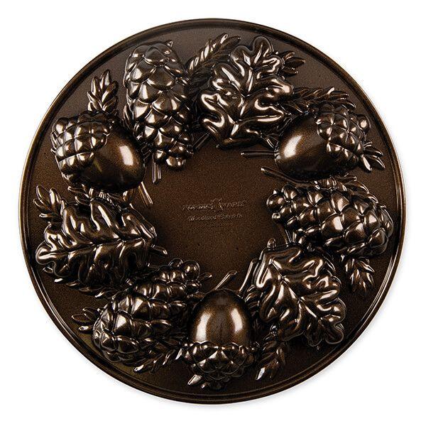 Nordic Ware Bronze Woodland Cakelet Pan