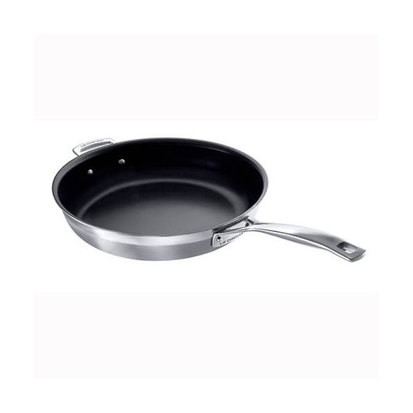 Le Creuset 3-ply Stainless Steel 30cm Non-Stick Frying Pan