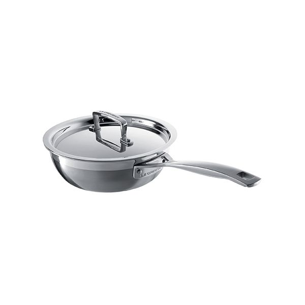 Le Creuset 3-ply Stainless Steel 20cm Non-Stick Chefs Pan