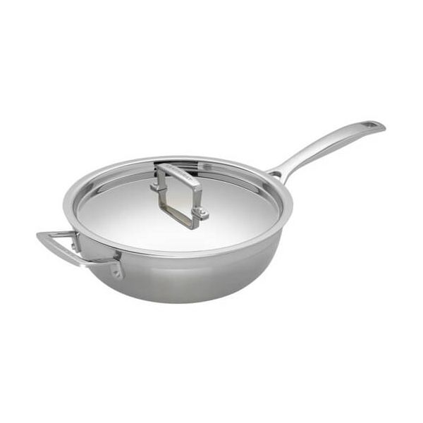 Le Creuset 3-ply Stainless Steel 24cm Non-Stick Chefs Pan