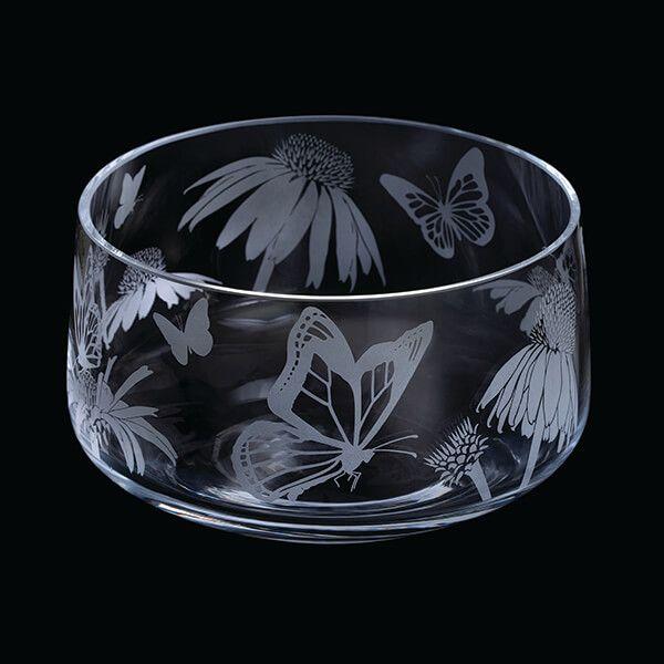 Dartington Aspect Bowl Butterflies