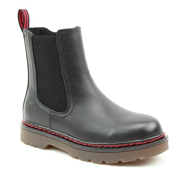Heavenly Feet Saint Black Chelsea Boots
