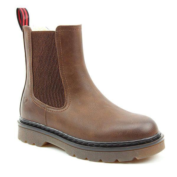 Heavenly Feet Saint Chocolate Chelsea Boots