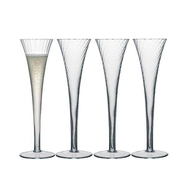 LSA Aurelia Champagne Flute 200ml Set Of Four