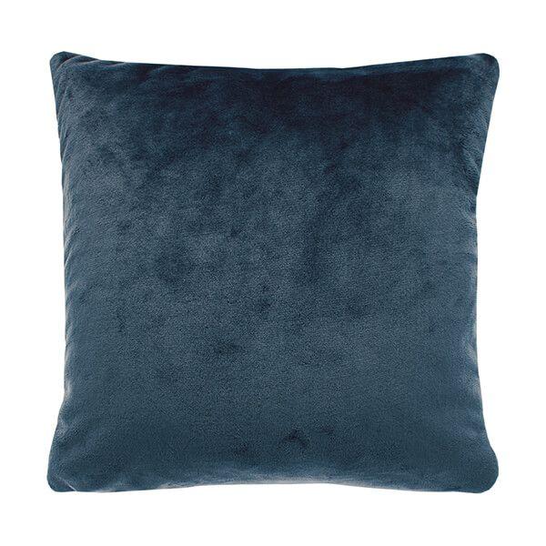 Walton & Co Cashmere Slate Blue Touch Cushion