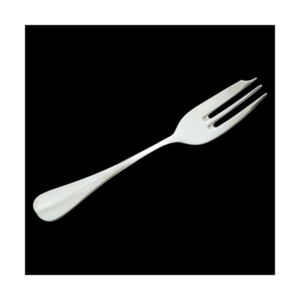 Arthur Price of England Baguette Sovereign Silver Plate Pastry Fork