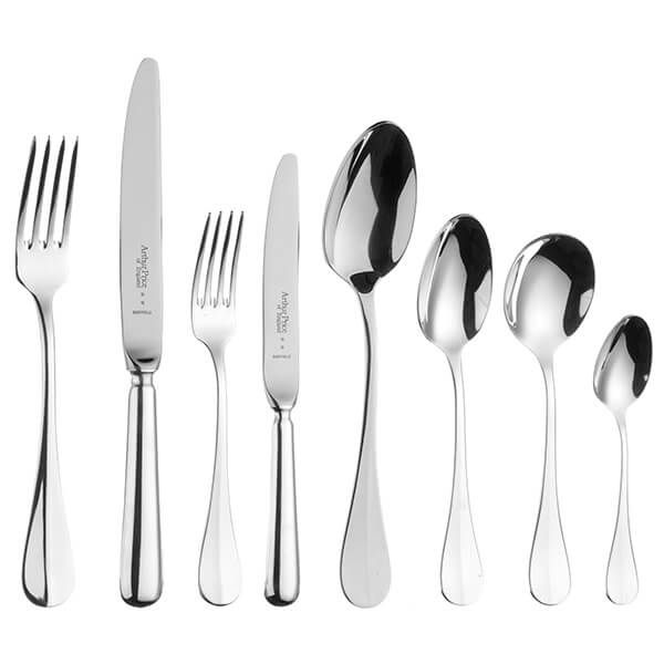 Arthur Price of England Sovereign Stainless Steel Baguette 44 Piece Cutlery Box Set