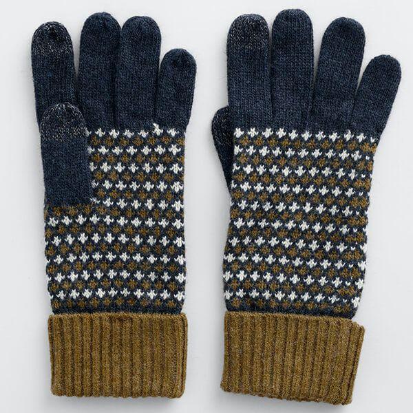 Seasalt Very Clever Gloves Tempered Dark Night Mix