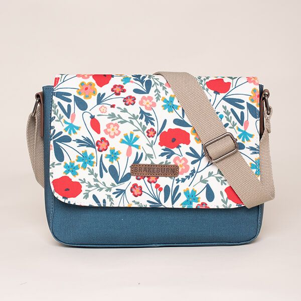 Brakeburn Botanical Saddle Bag