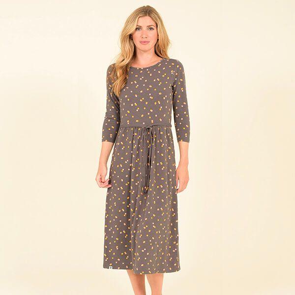 Brakeburn Dotty Midi Dress