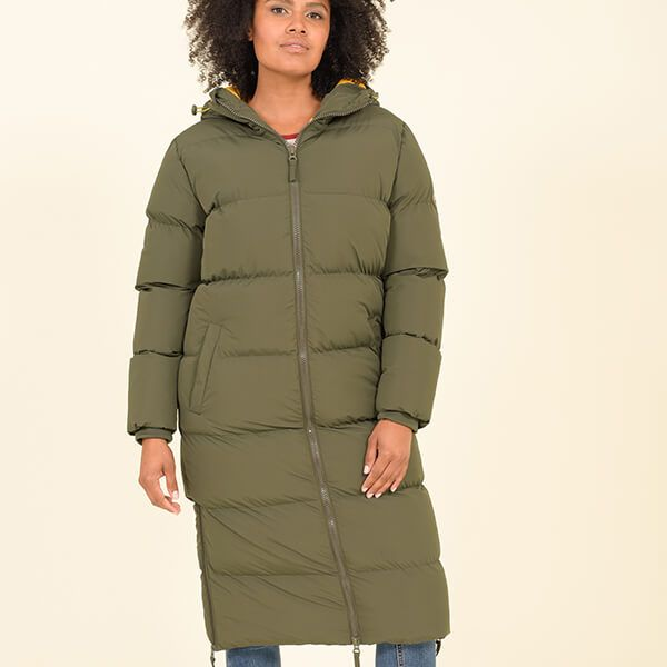 Brakeburn Longline Puffa Jacket