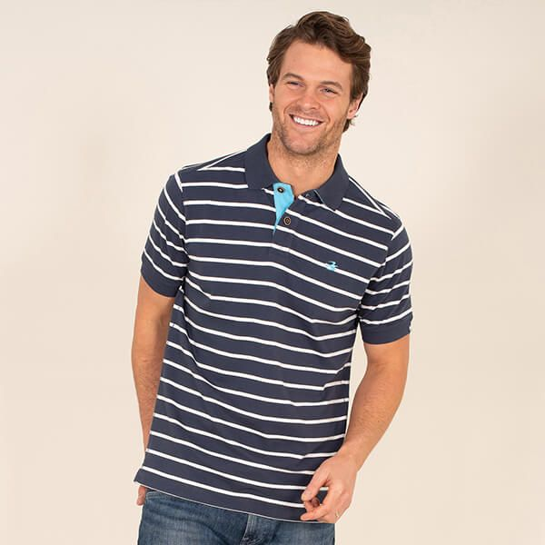Brakeburn Stripe Polo Shirt