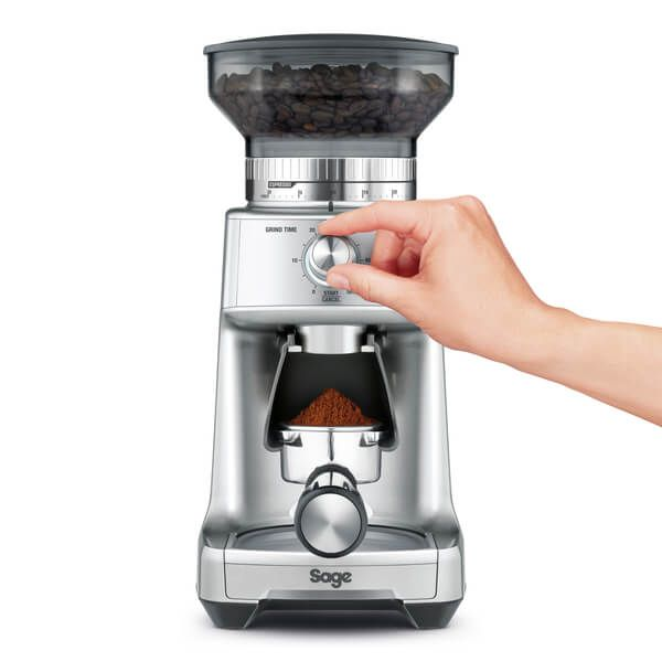 Sage The Dose Control Pro Coffee Grinder Stainless Steel