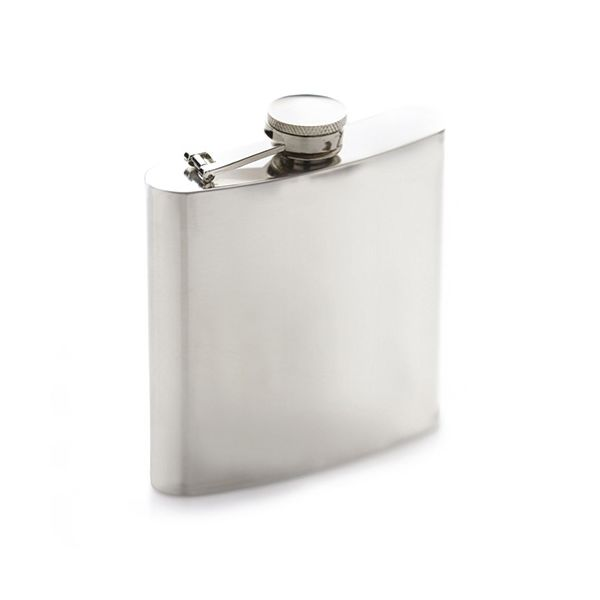 BarCraft Stainless Steel Hip Flask