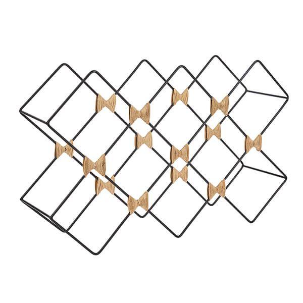 BarCraft Iron Wire Wine Rack
