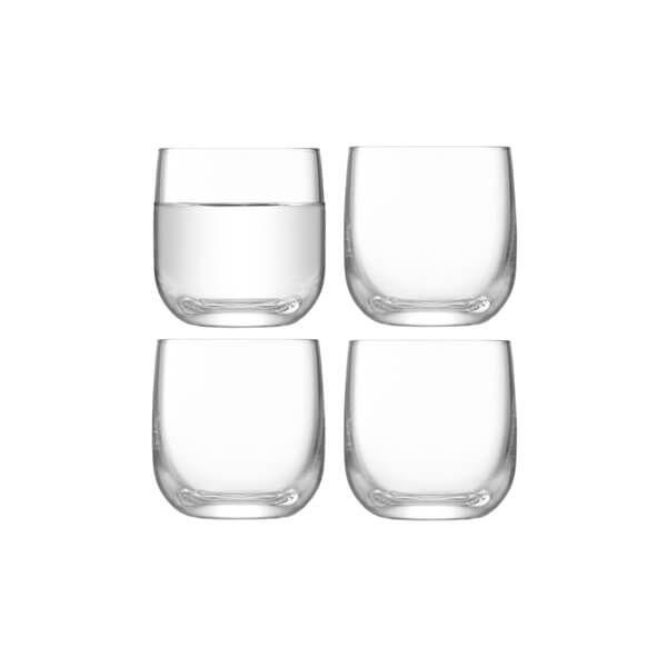 LSA Borough Shot Glass 75ml Set Of 4