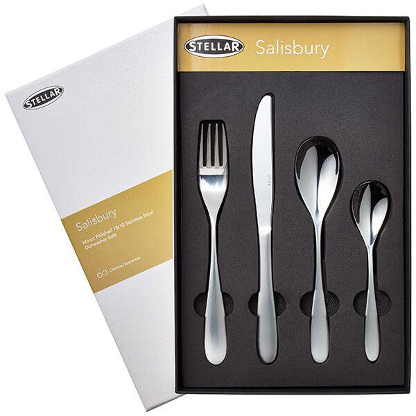 Stellar Salisbury 32 Piece Cutlery Gift Box Set