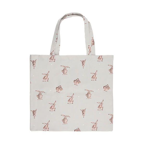 Wrendale Designs Foldable Shopping Bag - Hare