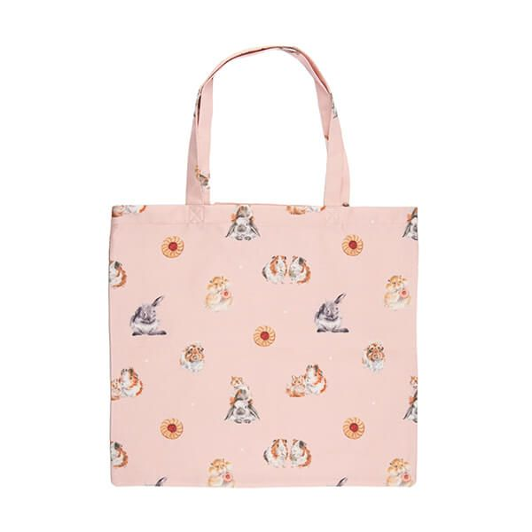 Wrendale Designs Foldable Shopping Bag - Piggy in the Middle