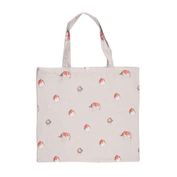 Wrendale Designs Foldable Shopping Bag - Robin