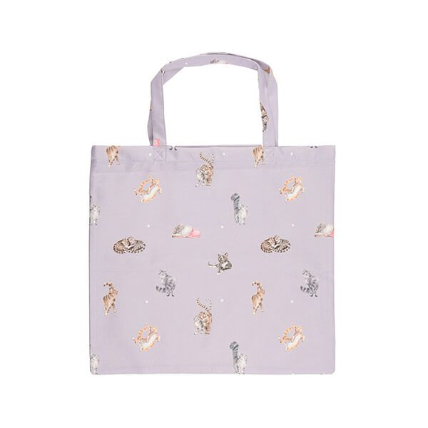 Wrendale Designs Foldable Shopping Bag - Cat