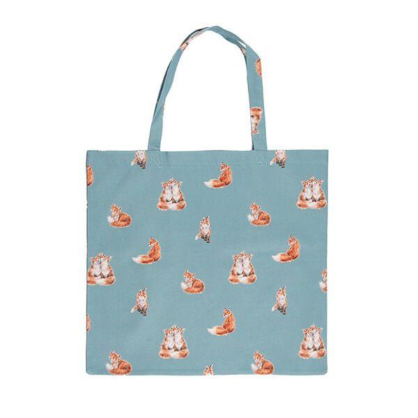 Wrendale Designs Foldable Shopping Bag - Fox