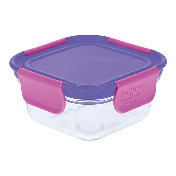 Built Active Glass 300ml Snack Box