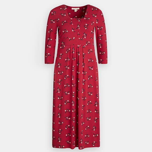 Seasalt Seed Packet Dress Festive Berries Dahlia