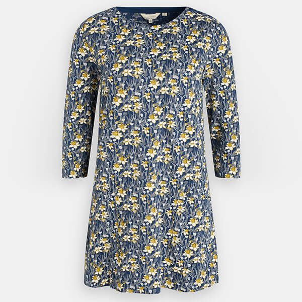 Seasalt Cape Cornwall Tunic Spring Border Harbour Size 16