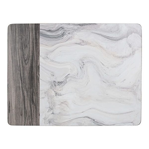Creative Tops Marble Pack Of 4 Large Placemats