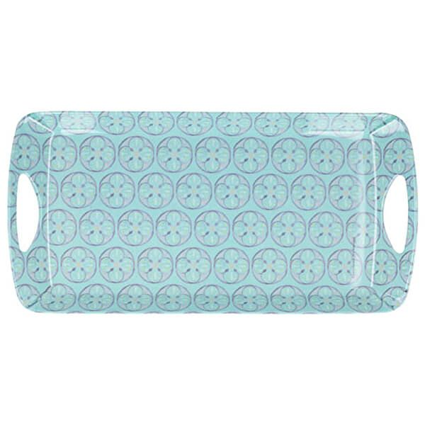 Creative Tops Green Tile Small Luxury Handled Tray