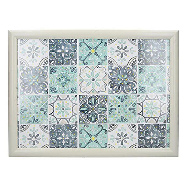 Creative Tops Green Tile Laptray