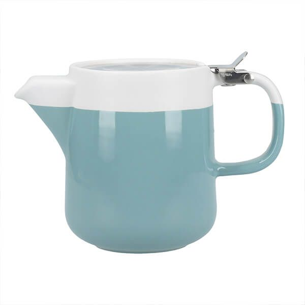 La Cafetiere Barcelona 420ml Teapot Retro Blue