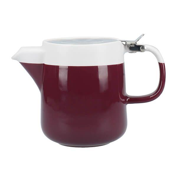 La Cafetiere Barcelona 420ml Teapot Plum