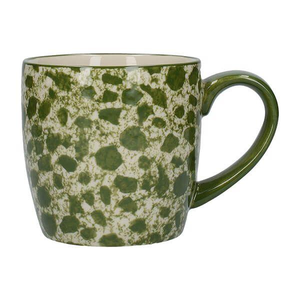 London Pottery Splash Globe Mug Green
