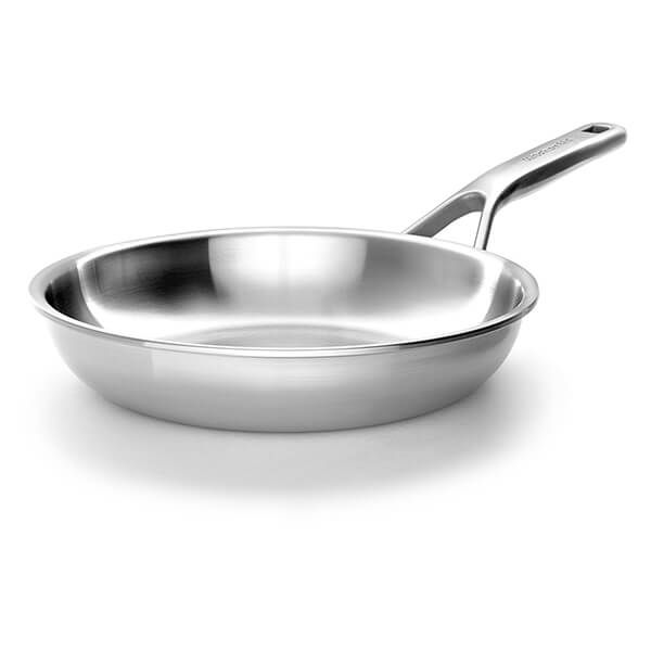 KitchenAid Multi-Ply Stainless Steel 3ply 24cm Uncoated Frypan