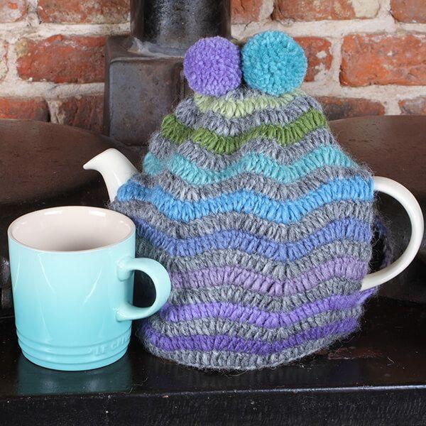 Pachamama San Clemente Blue Tea Cosy