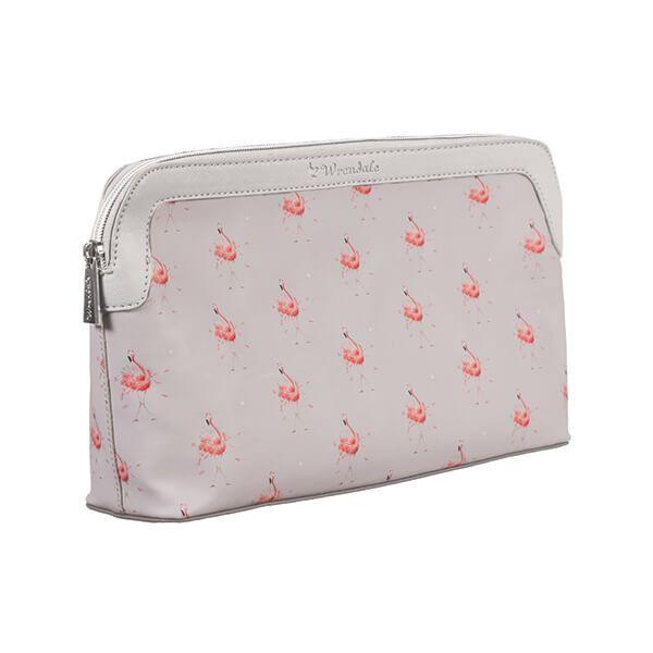 Wrendale Designs Flamingo Large Cosmetic Bag