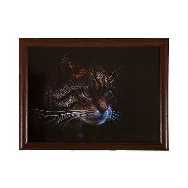 Country Matters Stalking Cat Lap Tray
