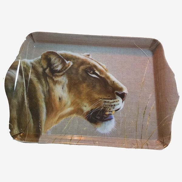 Country Matters Karen Laurence-Rowe Lioness Trinket Tray