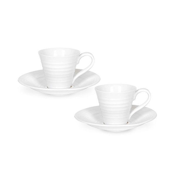 Sophie Conran Espresso Cup & Saucer Set Of Two