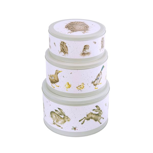 Wrendale Designs Nest Of 3 Cake Tins
