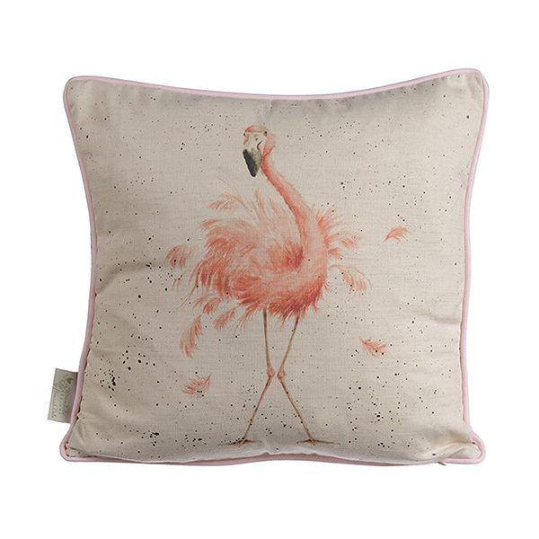 Wrendale Pink Flamingo Cushion