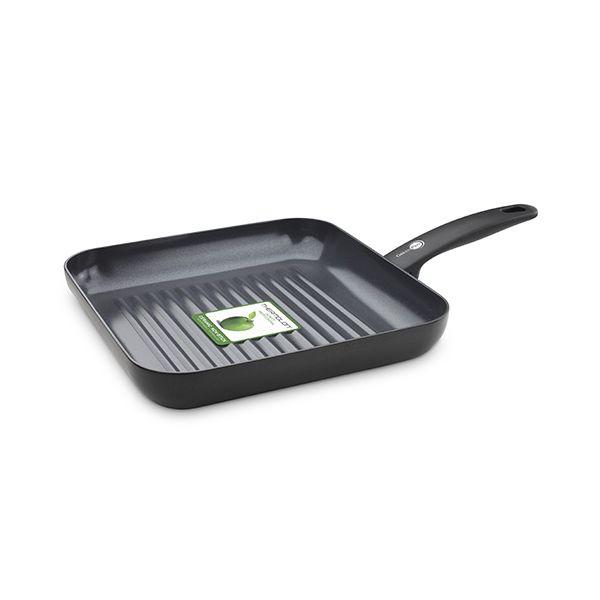 GreenPan Cambridge Ceramic Non-Stick Square Grill Pan