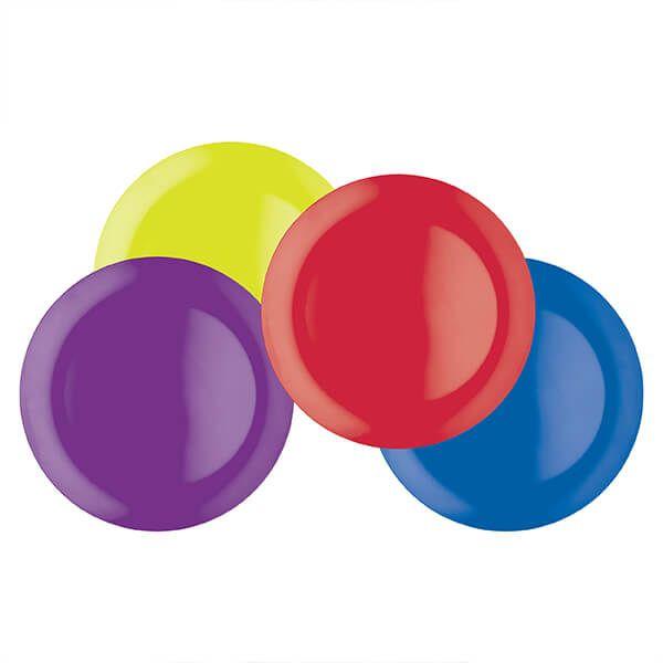 Colourworks Set of Four 28cm Melamine Dinner Plates