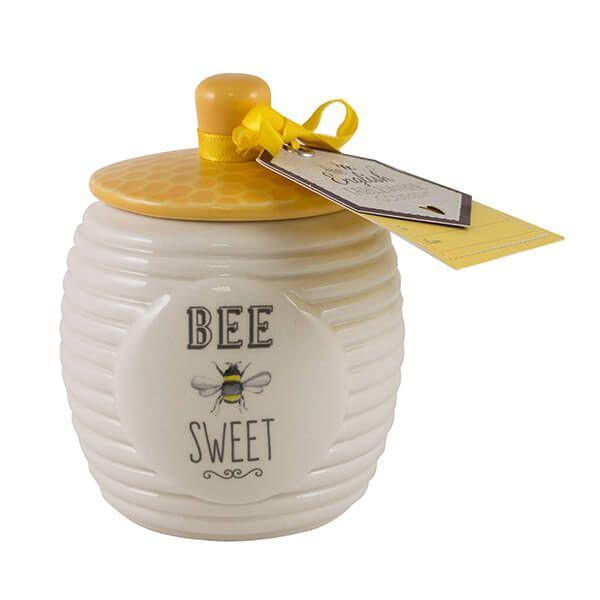 English Tableware Company Bee Happy Sugar Pot