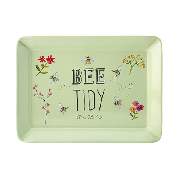 English Tableware Company Bee Happy 'Bee Tidy' Melamine Scatter Tray