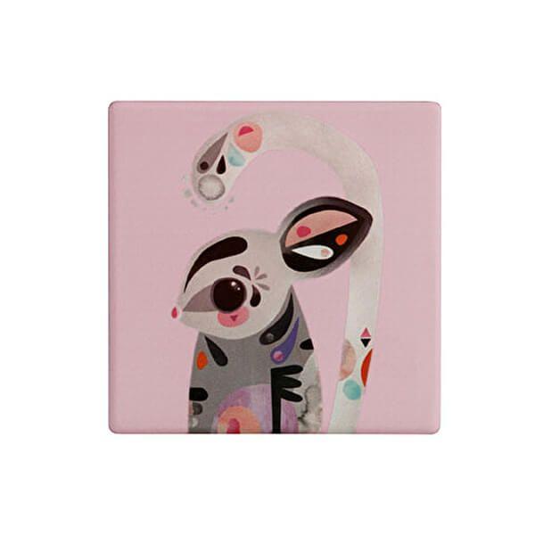 Maxwell & Williams Pete Cromer Ceramic Square 9.5cm Coaster Sugar Glider