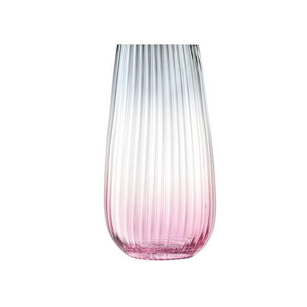 LSA Dusk Vase 28cm Pink & Grey
