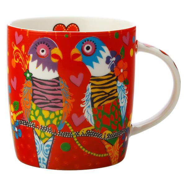 Maxwell & Williams Love Hearts Tiger Tiger 370ml Ceramic Mug Gift Boxed